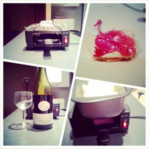 collage raclette