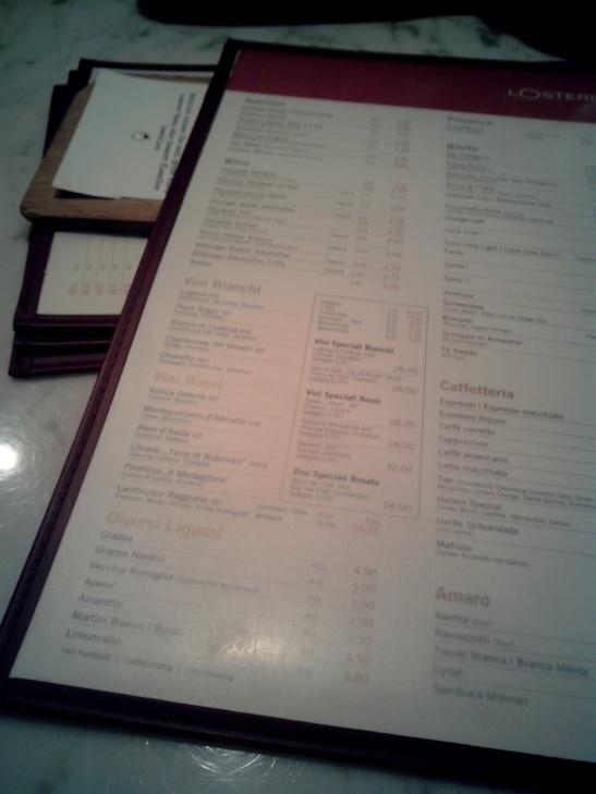 Restaurante italiano, Munich