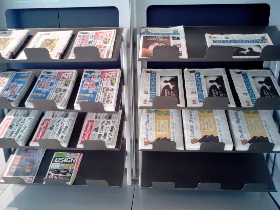 Periódicos aeropuerto