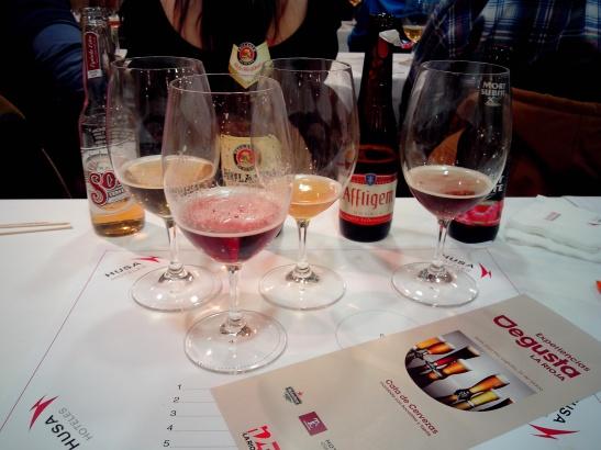 Degusta la Rioja, cata de cervezas