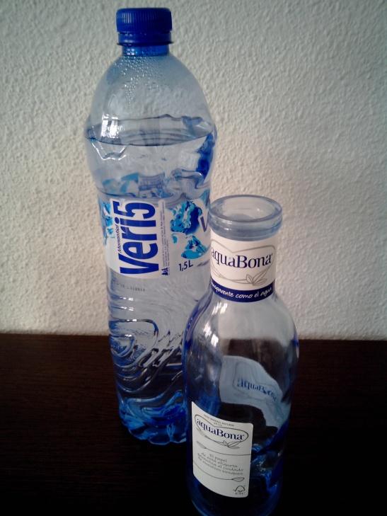 Beber agua, salud, vida sana