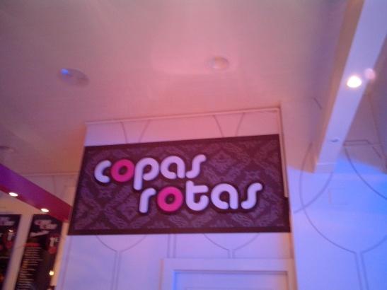 Copas rotas, Logroño