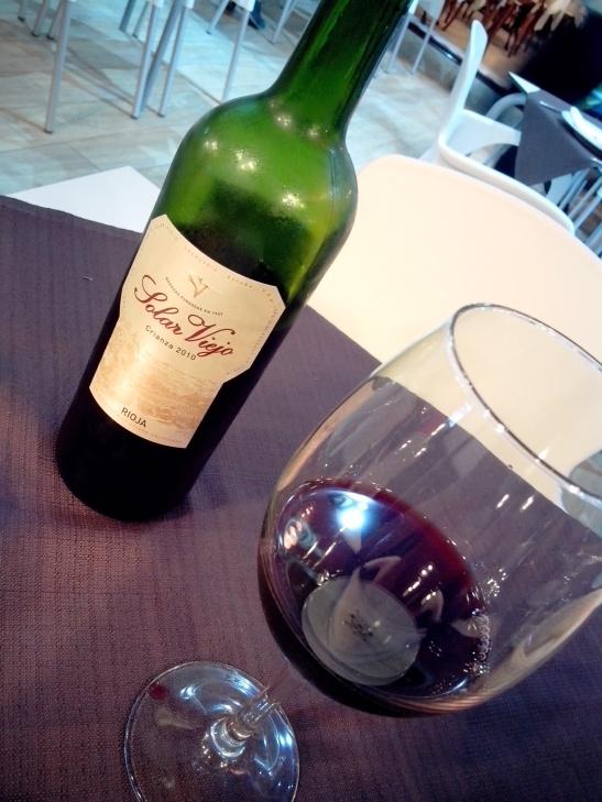 Vino crianza Rioja
