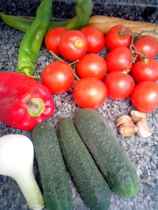 ingredientes gazpacho