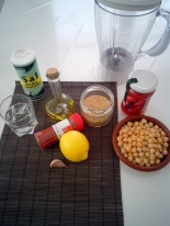 Ingredientes hummus