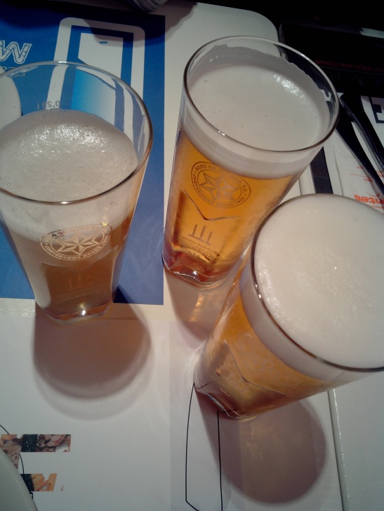Cervezas, cañas