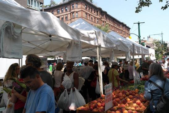 Street Market NY, fruta