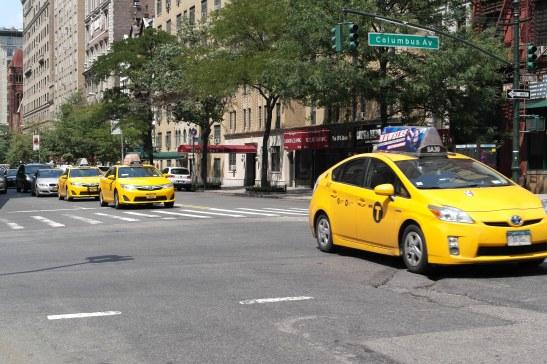 Taxi NY, Colombus Avenue
